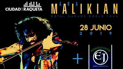 28 de junio 2019 Ara Malikian en el X Festival de Música Ciudad Raqueta