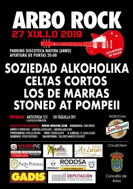 Soziedad Alkoholika Celtas Cortos Los de Marras Stoned at Pompeii