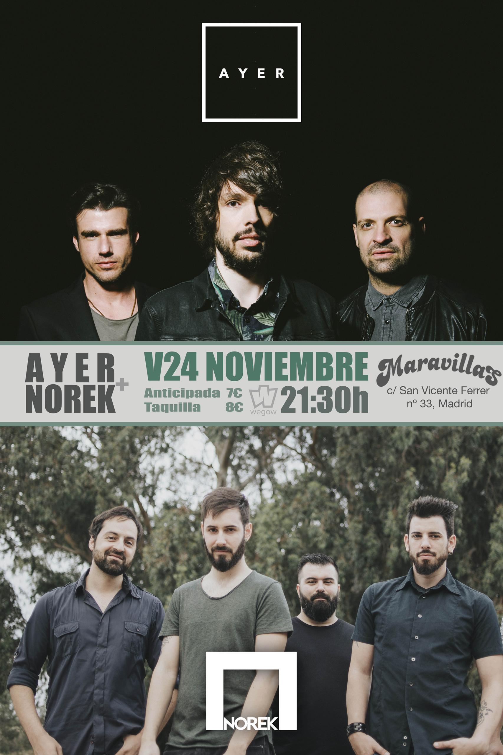 Concierto Sala Maravillas 24 Noviembre