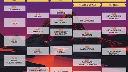 Horarios Azkena Rock Festival 2019 Sábado
