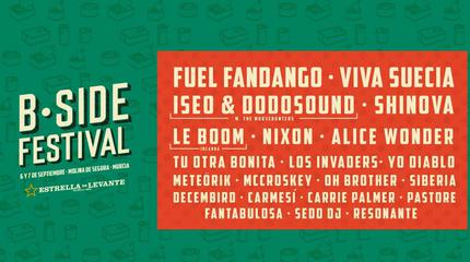 Cartel B-Side festival 2019