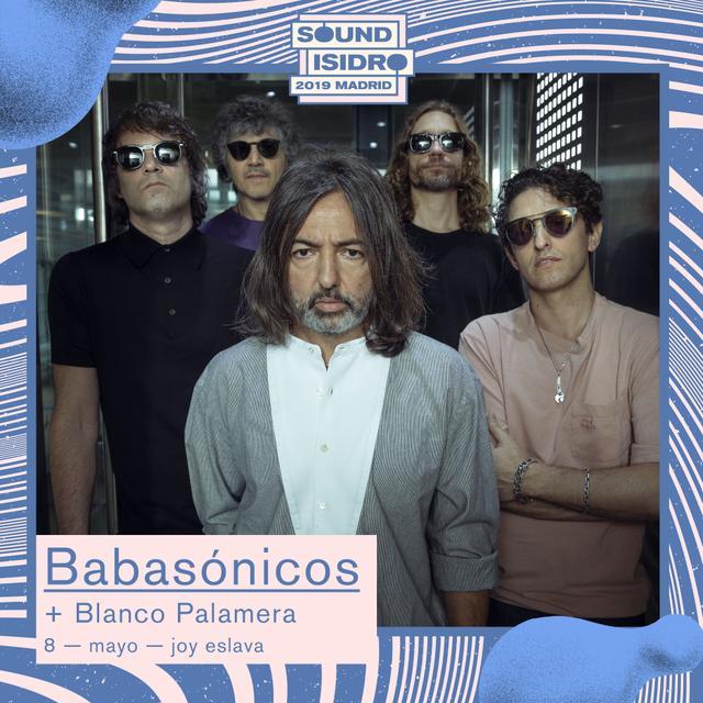 Babasonicos Blanco Palamera concierto Madrid Sound Isidro Joy Eslava