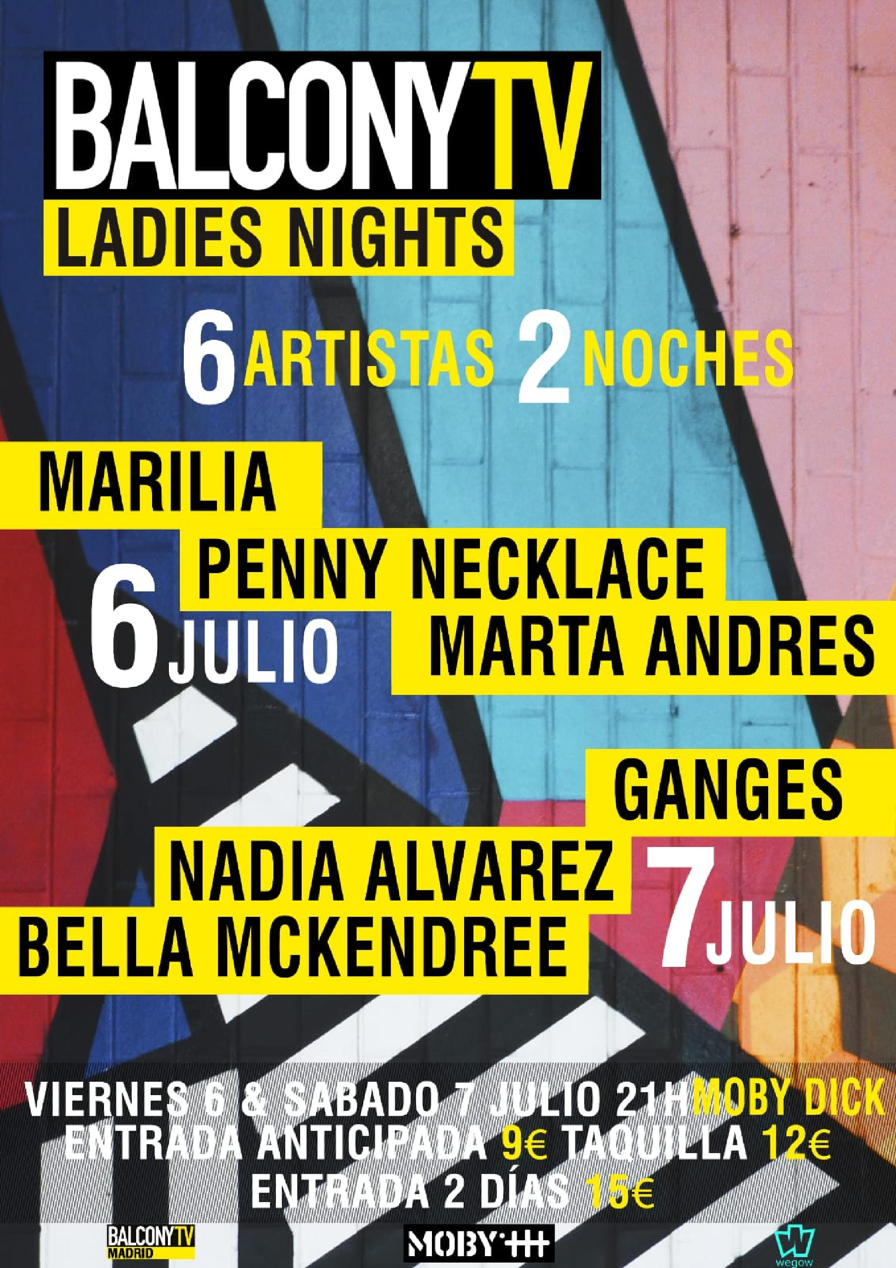 Ladies night balconyTV cartel