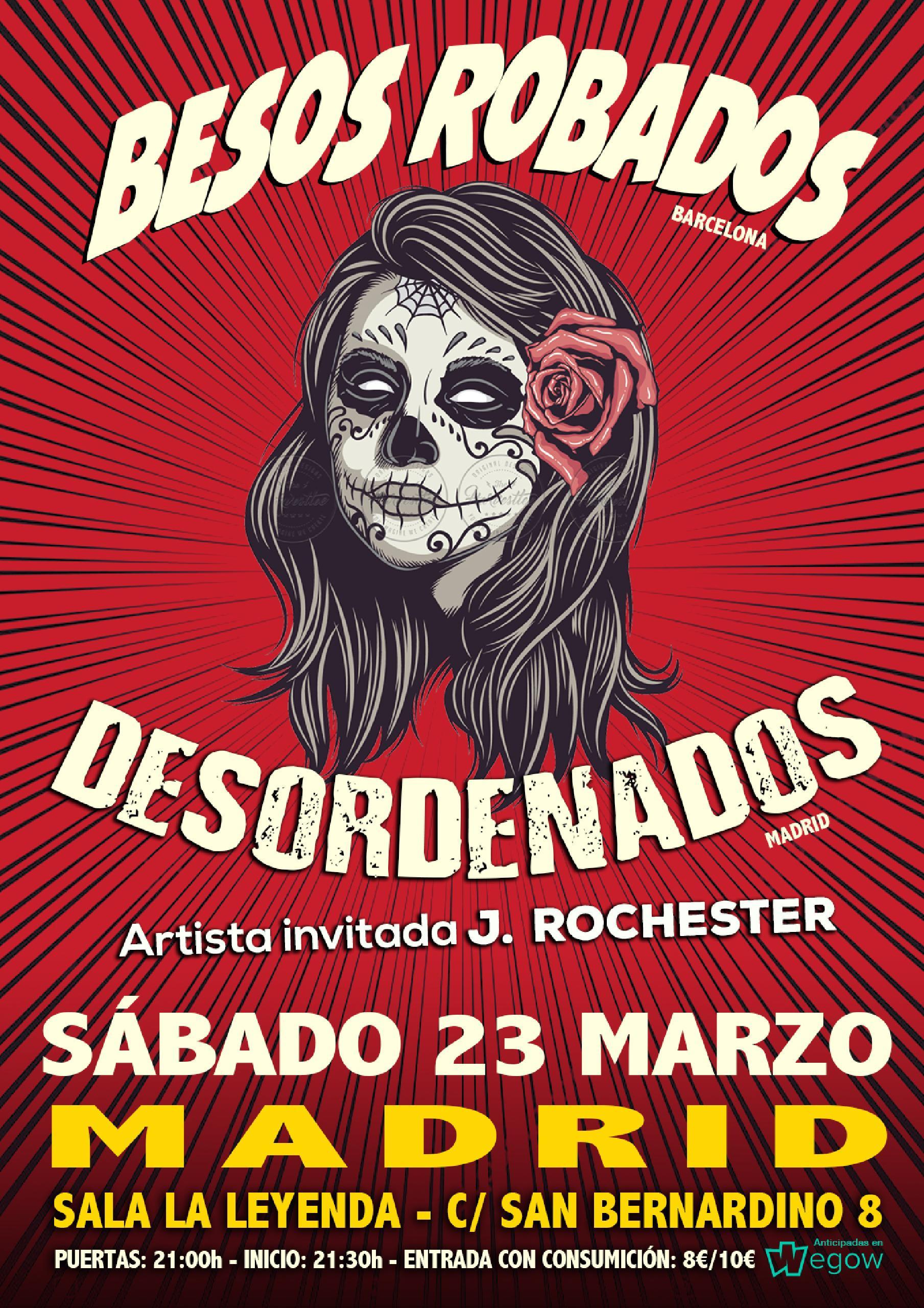 BESOS ROBADOS + DESORDENADOS