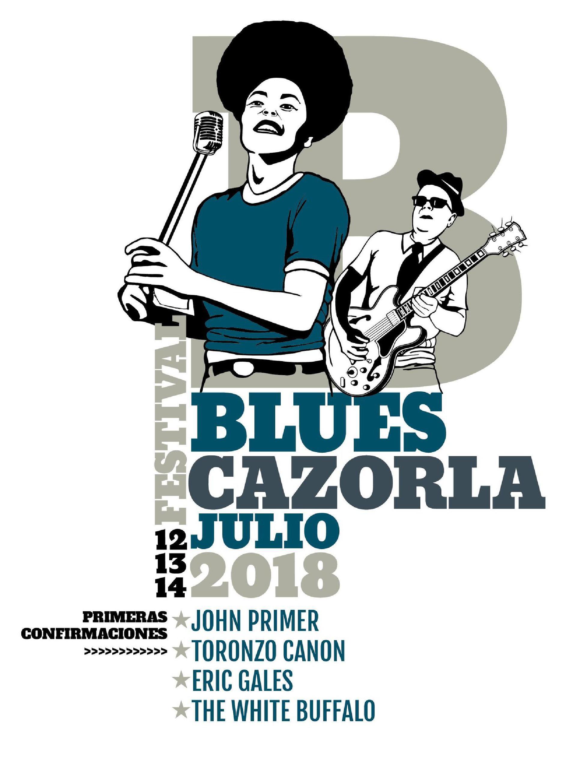 Primeras confirmaciones cartel BluesCazorla Festival 2018