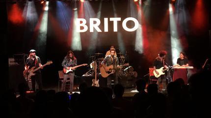 Brito en concierto en Barcelona
