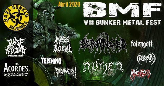 Cartel Bunker Metal Fest 2020