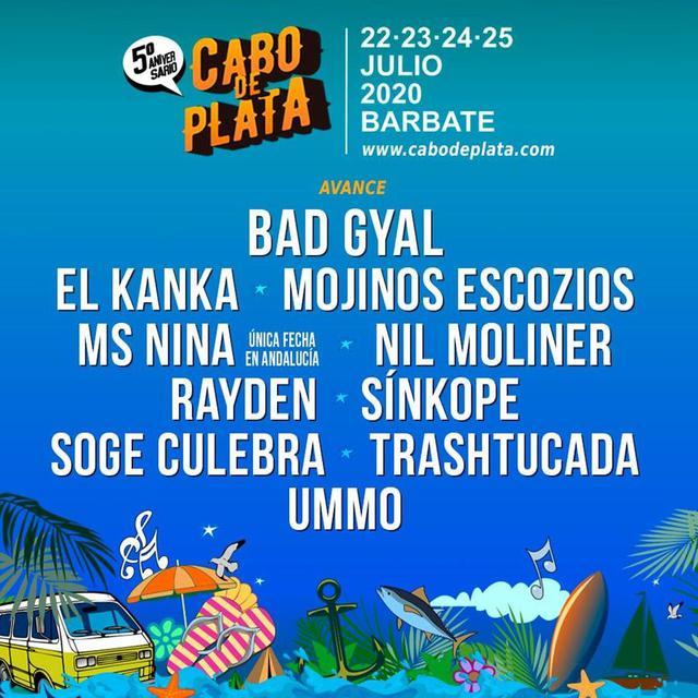 Cartel de Cabo de Plata 2020