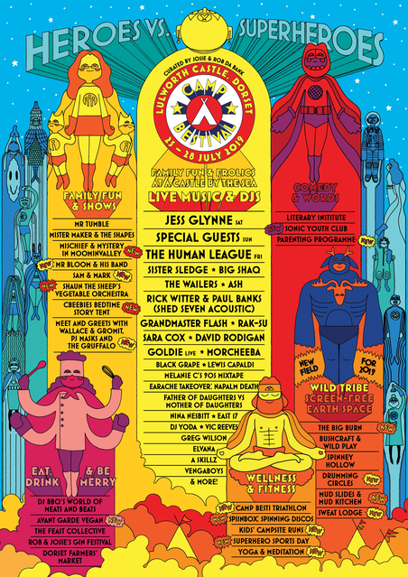 Camp Bestival Lineup