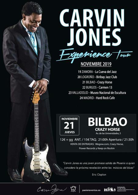 Carvin Jones  Bilbao
