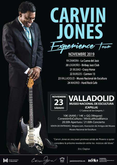 Carvin Jones - Experience Tour