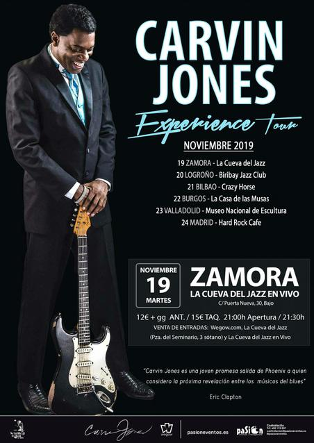 Carvin Jones Experiencie Tour en Zamora