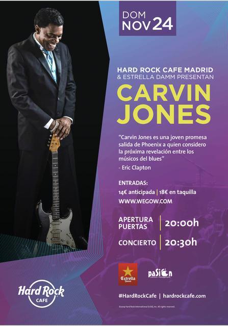 Carvin Jones - Hard Rock Madrid