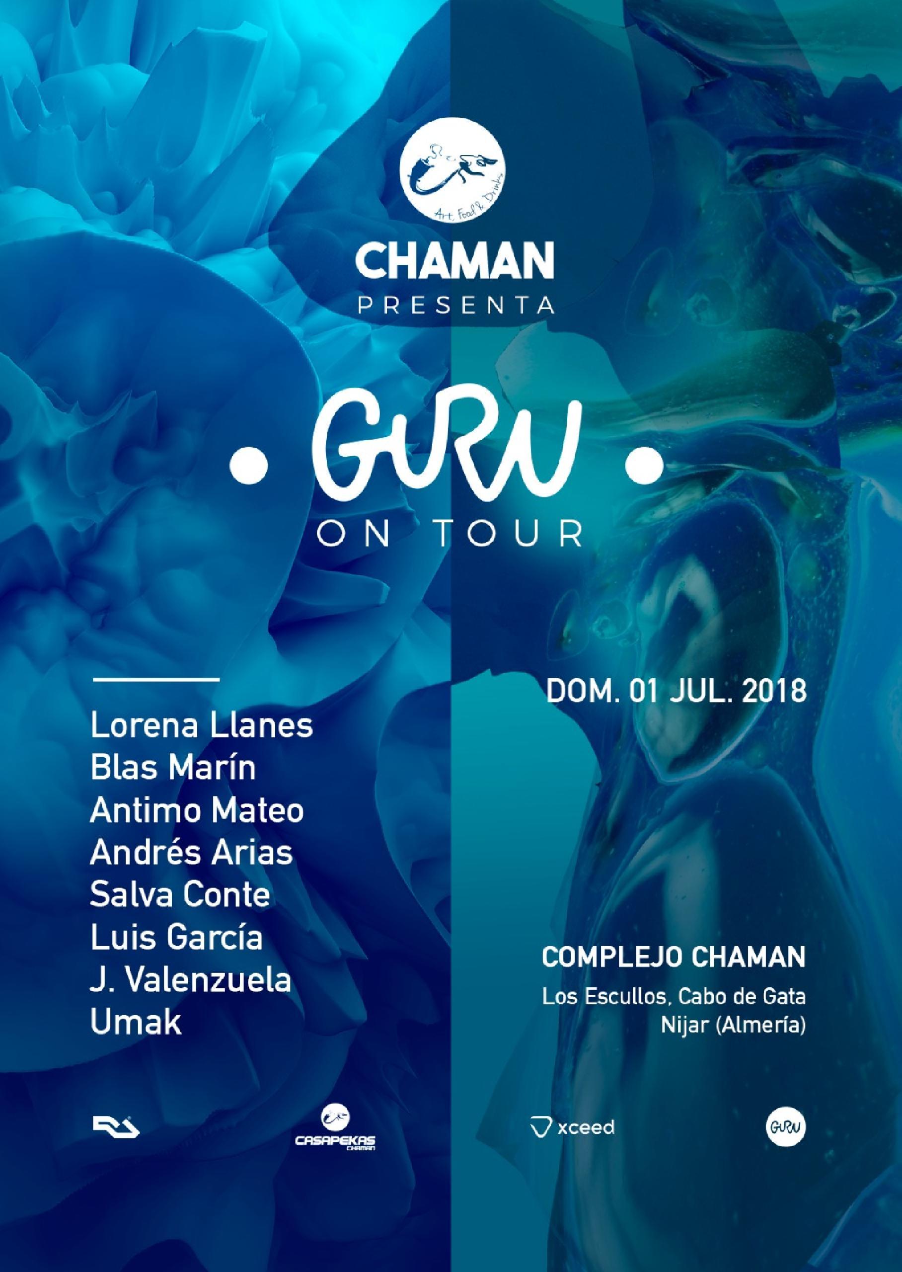chaman guru on tour