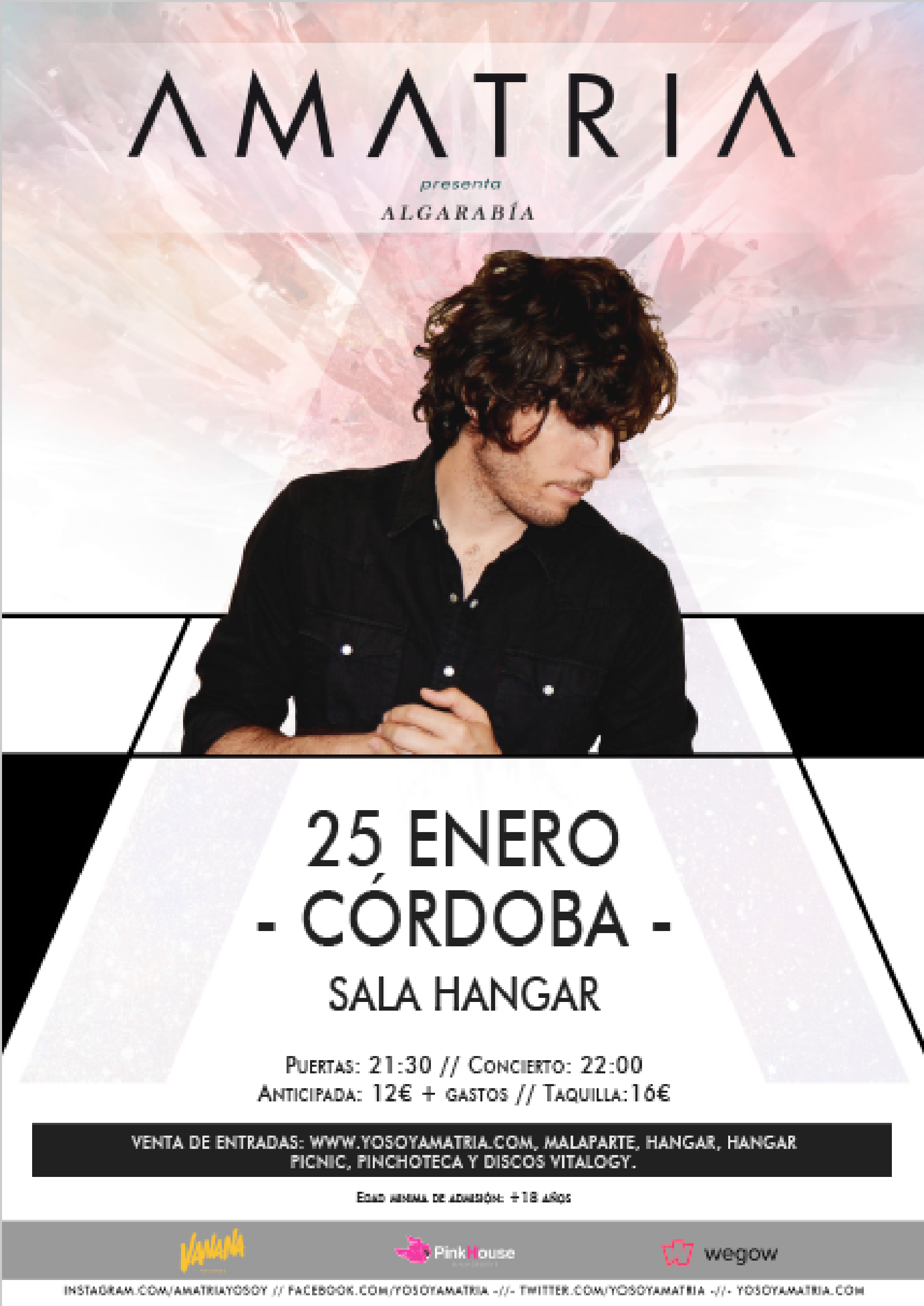 Cartel Amatria Córdoba