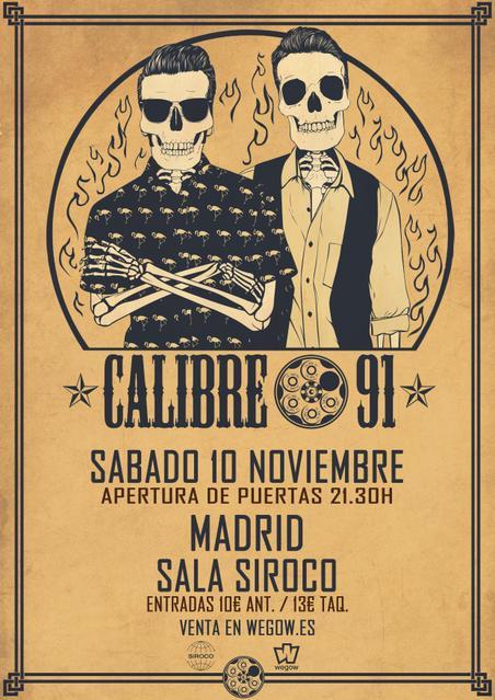 Calibre 91 en Madrid