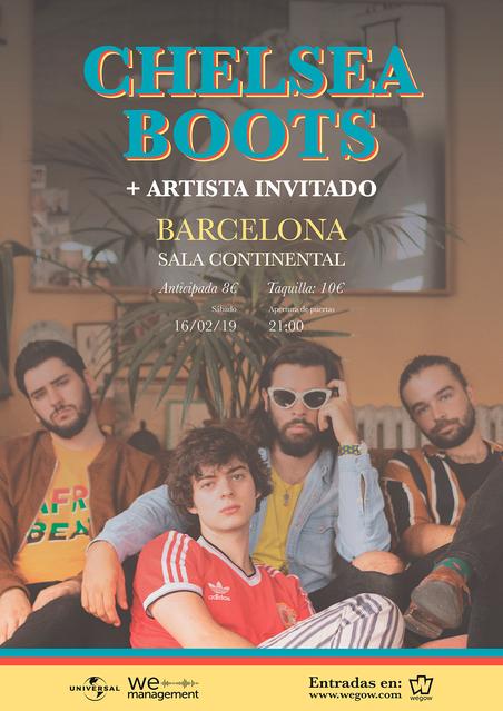 concierto chelsea boots barcelona