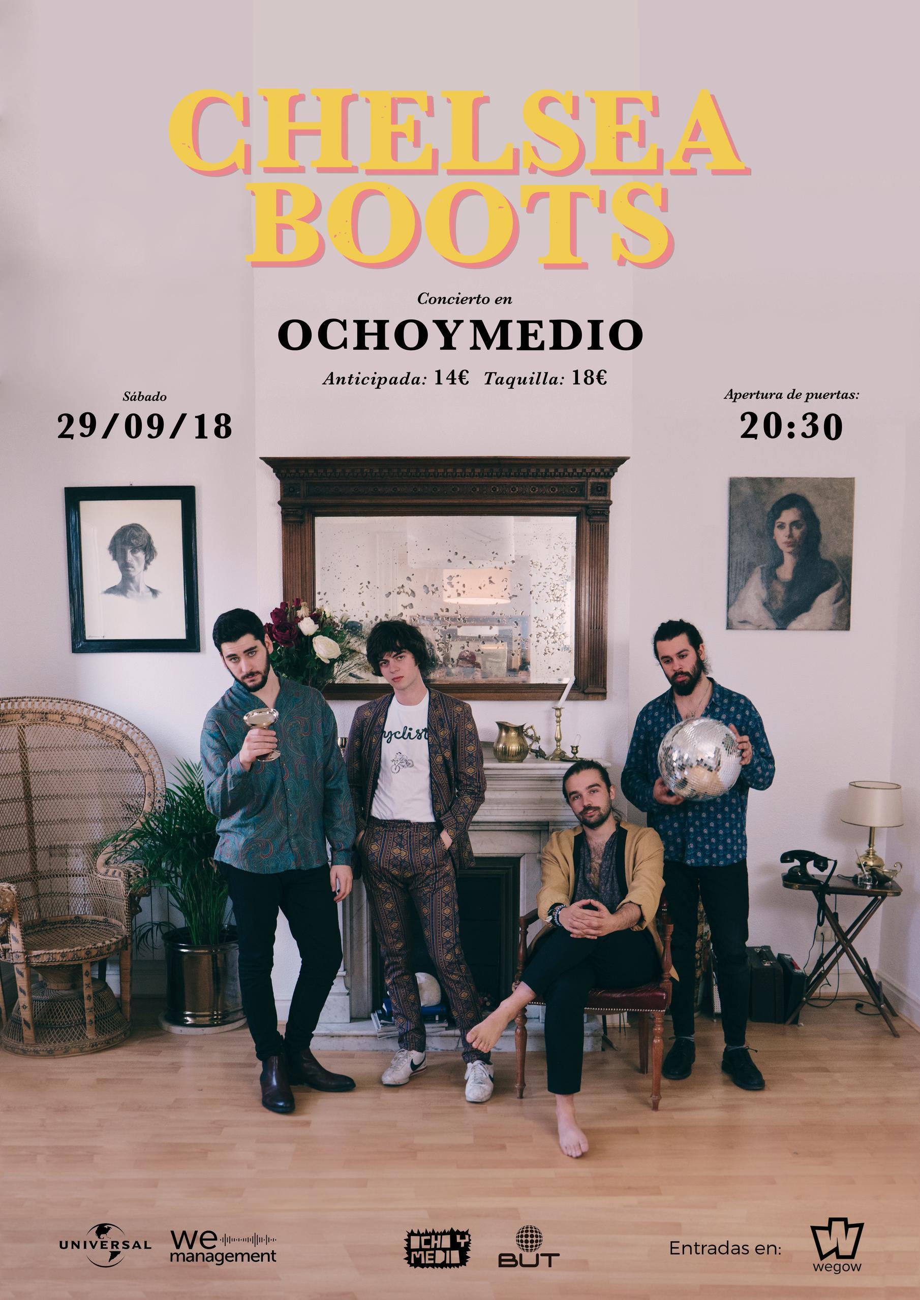Cartel Chelsea Boots Madrid