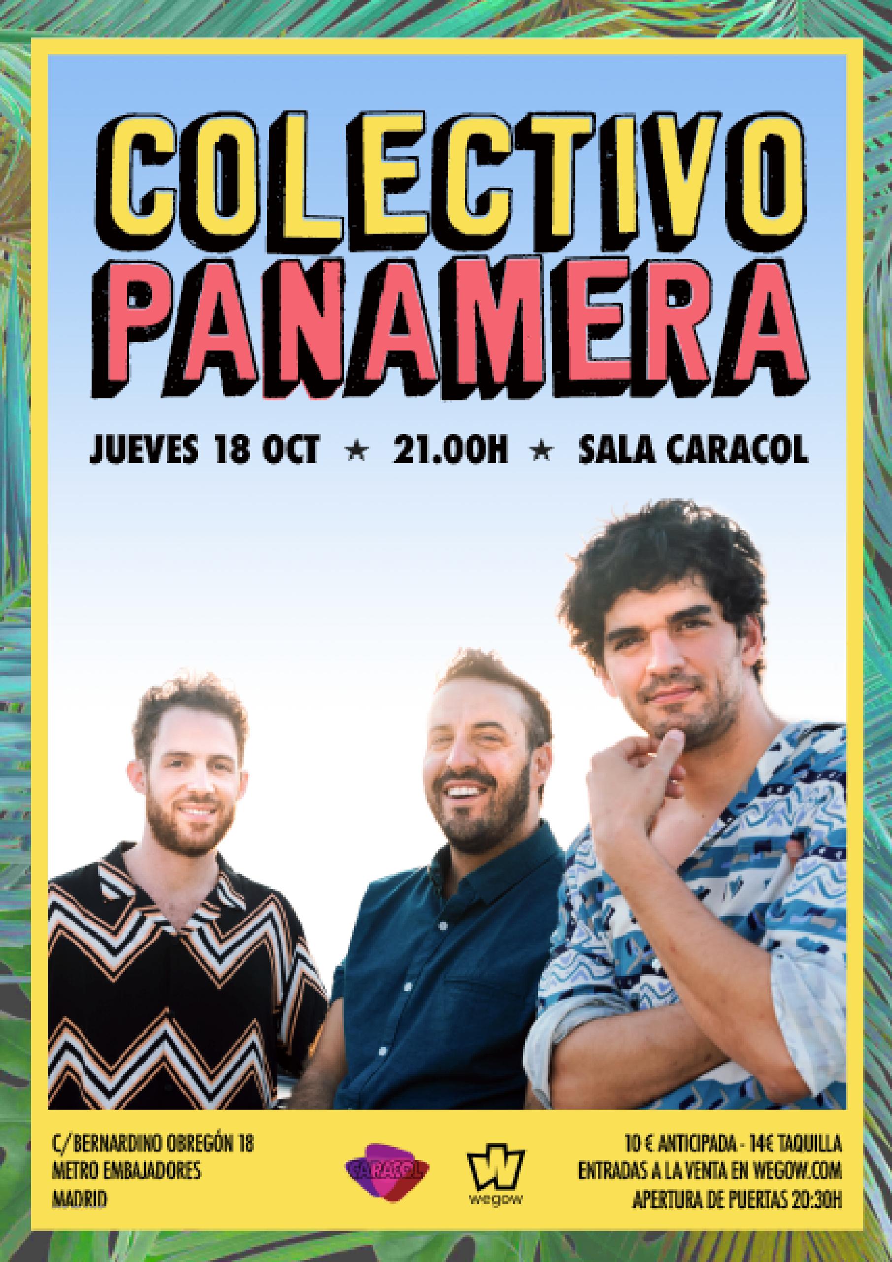Cartel Colectivo Panamera Madrid