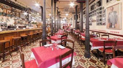 Taberna Restaurante Casa Patas. Calle de Los Cañizares nº10 de Madrid.