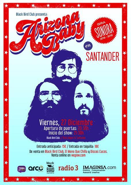 Concierto de Arizona Baby en Santander