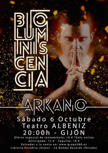 Concierto de Arkano en Gijón