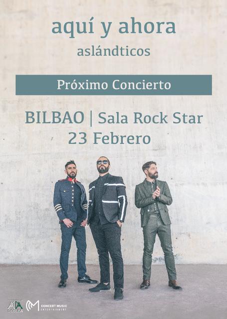 Concierto de Aslándticos en Bilbao