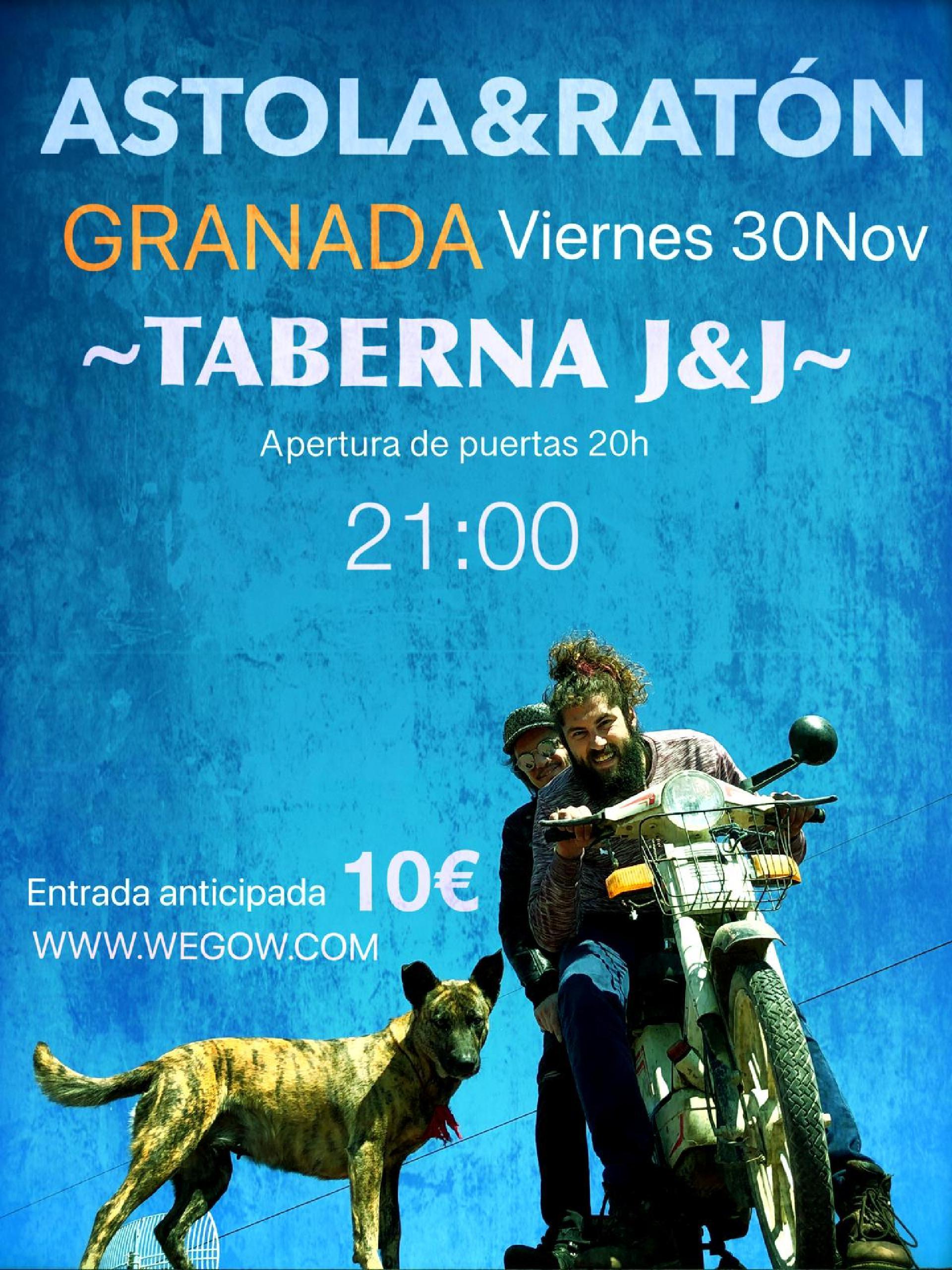Concierto de Astola en Granada