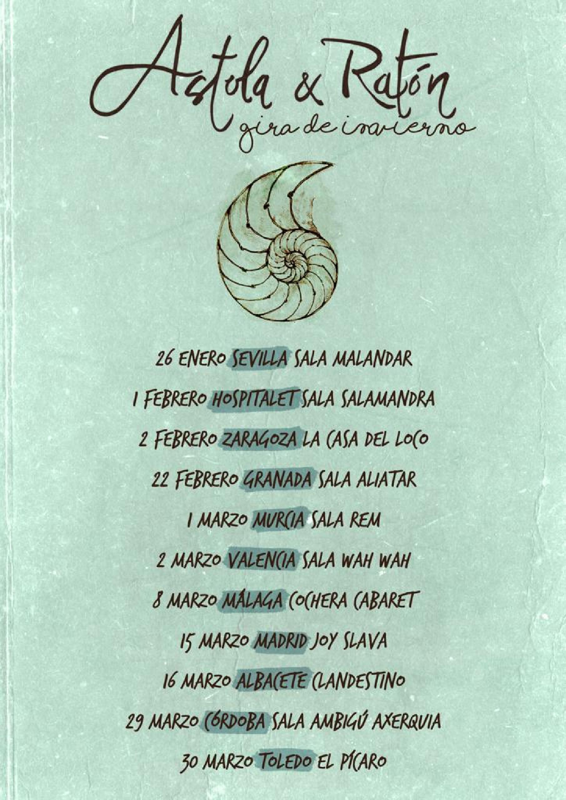 Concierto de Astola & Ratón en Granada
