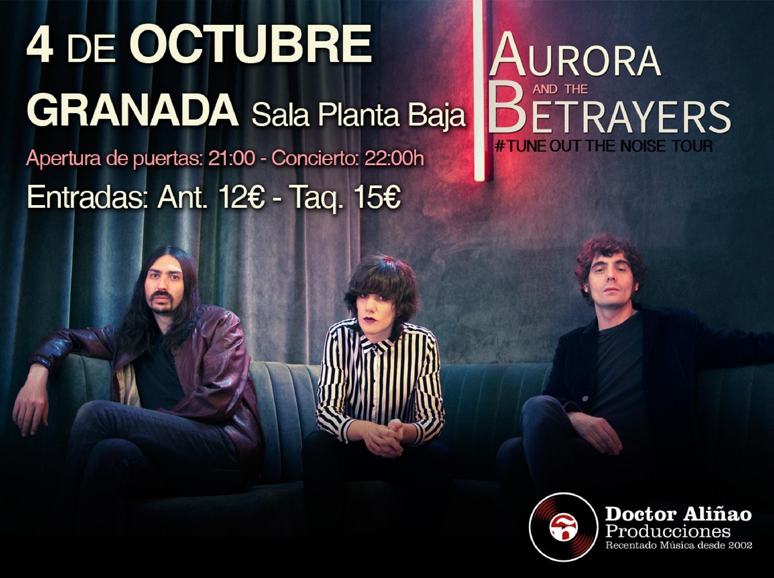 Concierto de Aurora & The Betrayers en Granada