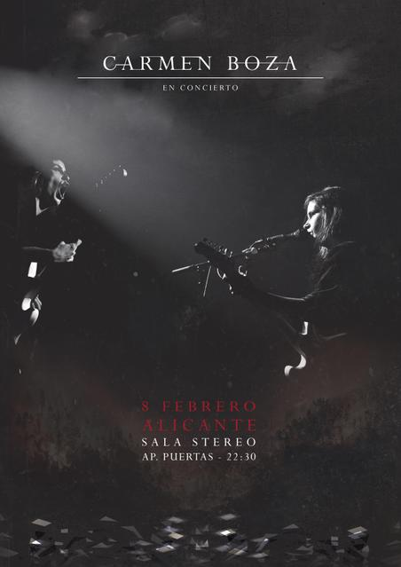 Concierto de Carmen Boza en Alicante