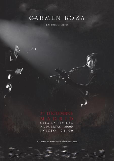 Concierto de Carmen Boza en Madrid