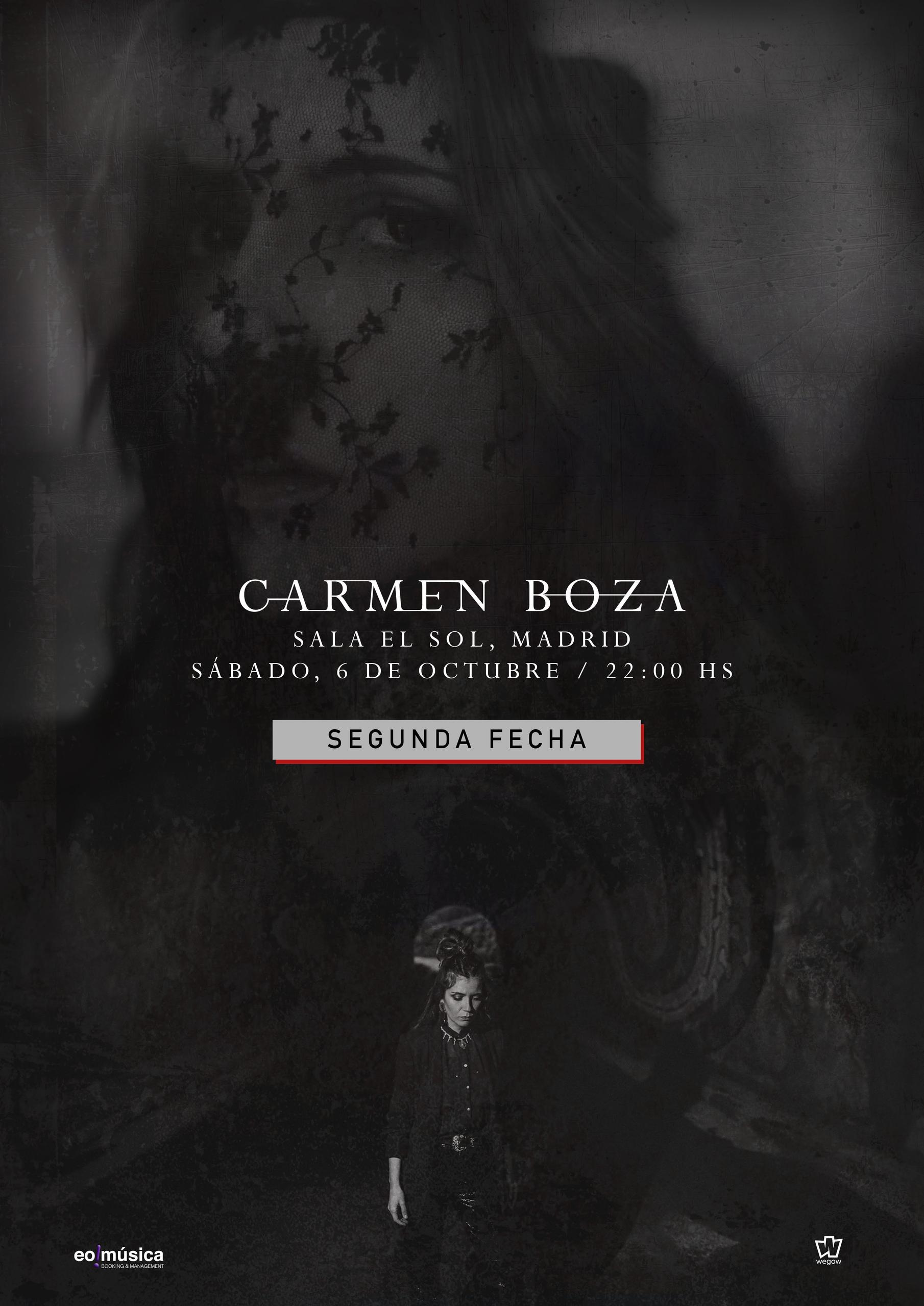 Carmen Boza en Madrid segunda fecha