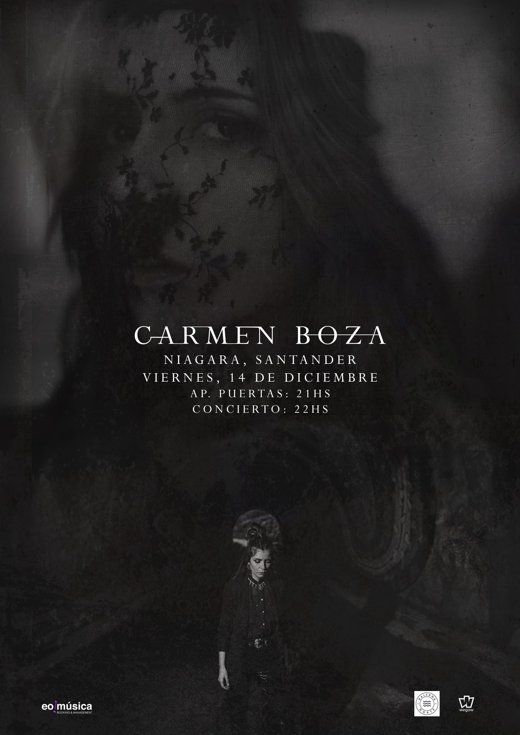 Concierto de Carmen Boza en Santander