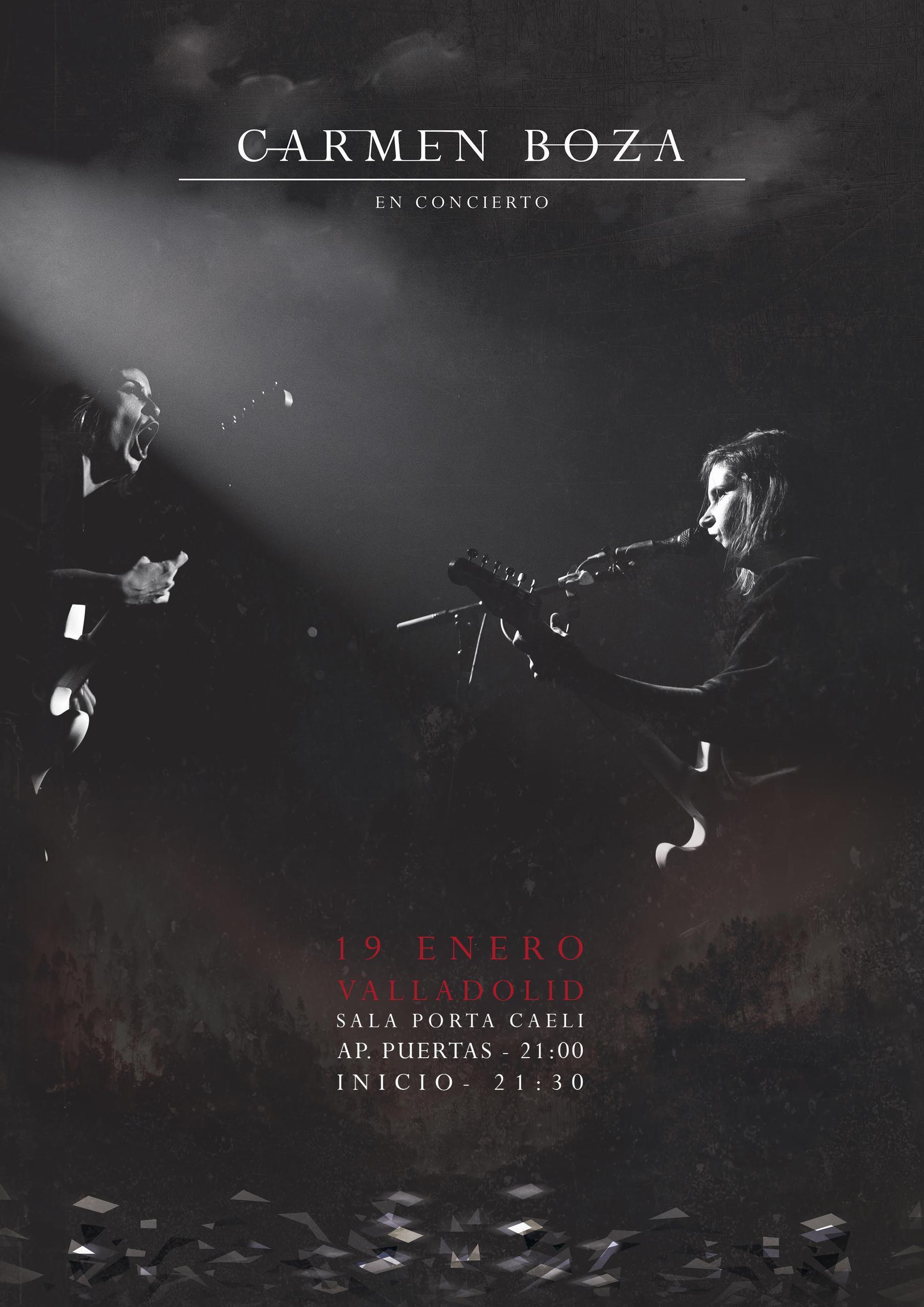 Concierto de Carmen Boza en Valladolid