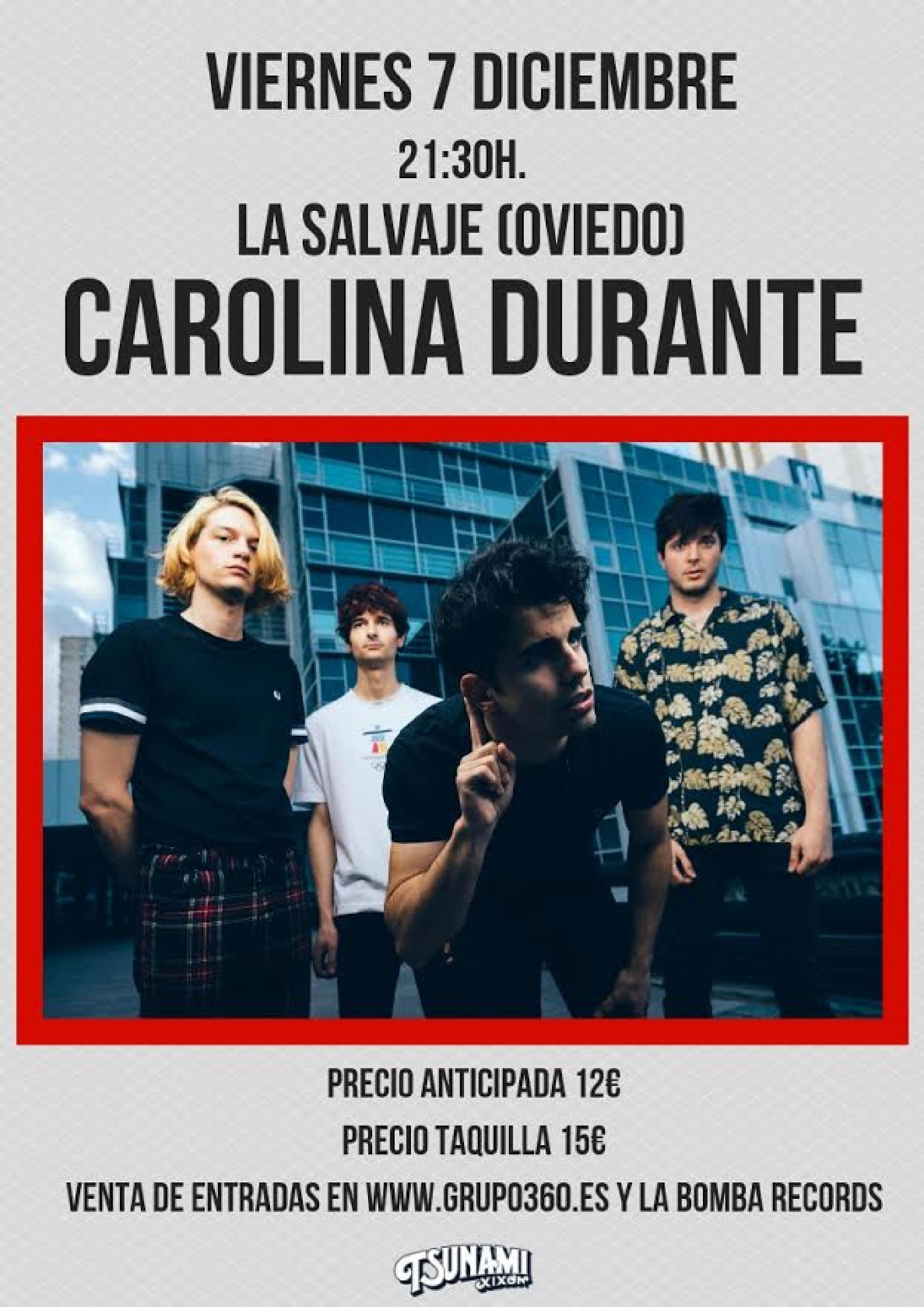 Carolina Durante en Oviedo