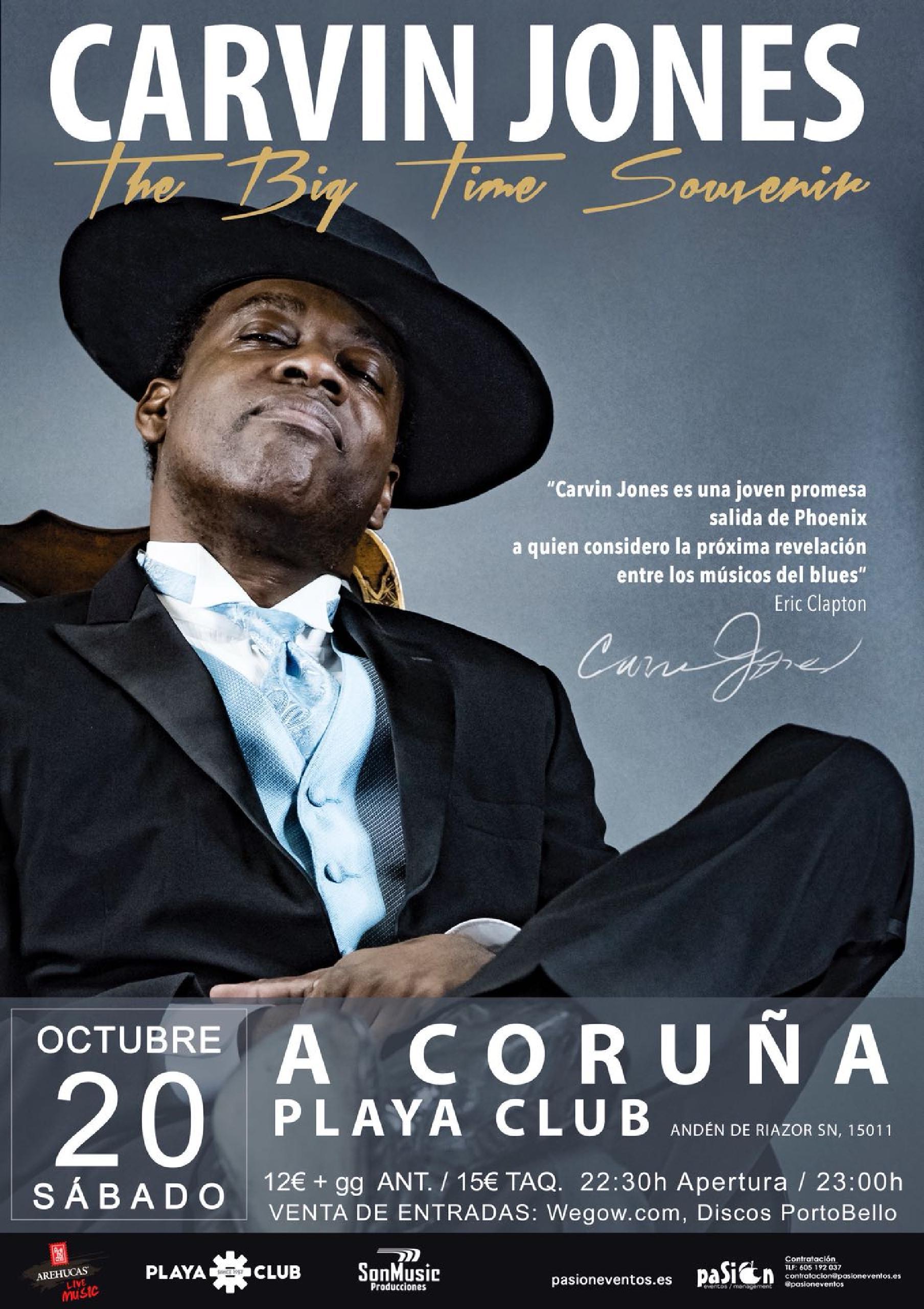 Carvin Jones en Coruña