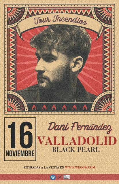 Concierto de Dani Fernández en Valladolid