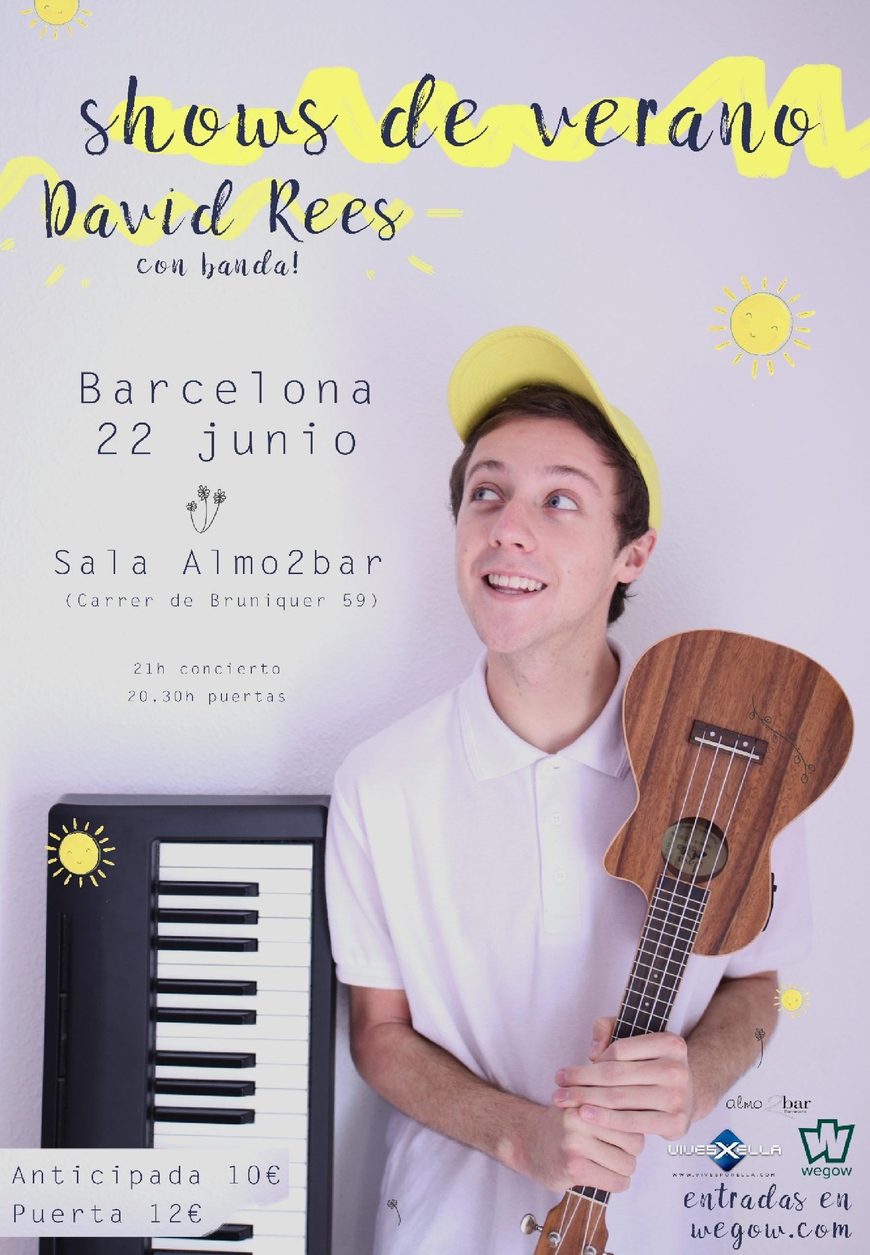 CONCIERTO DAVID REES BARCELONA WEGOW