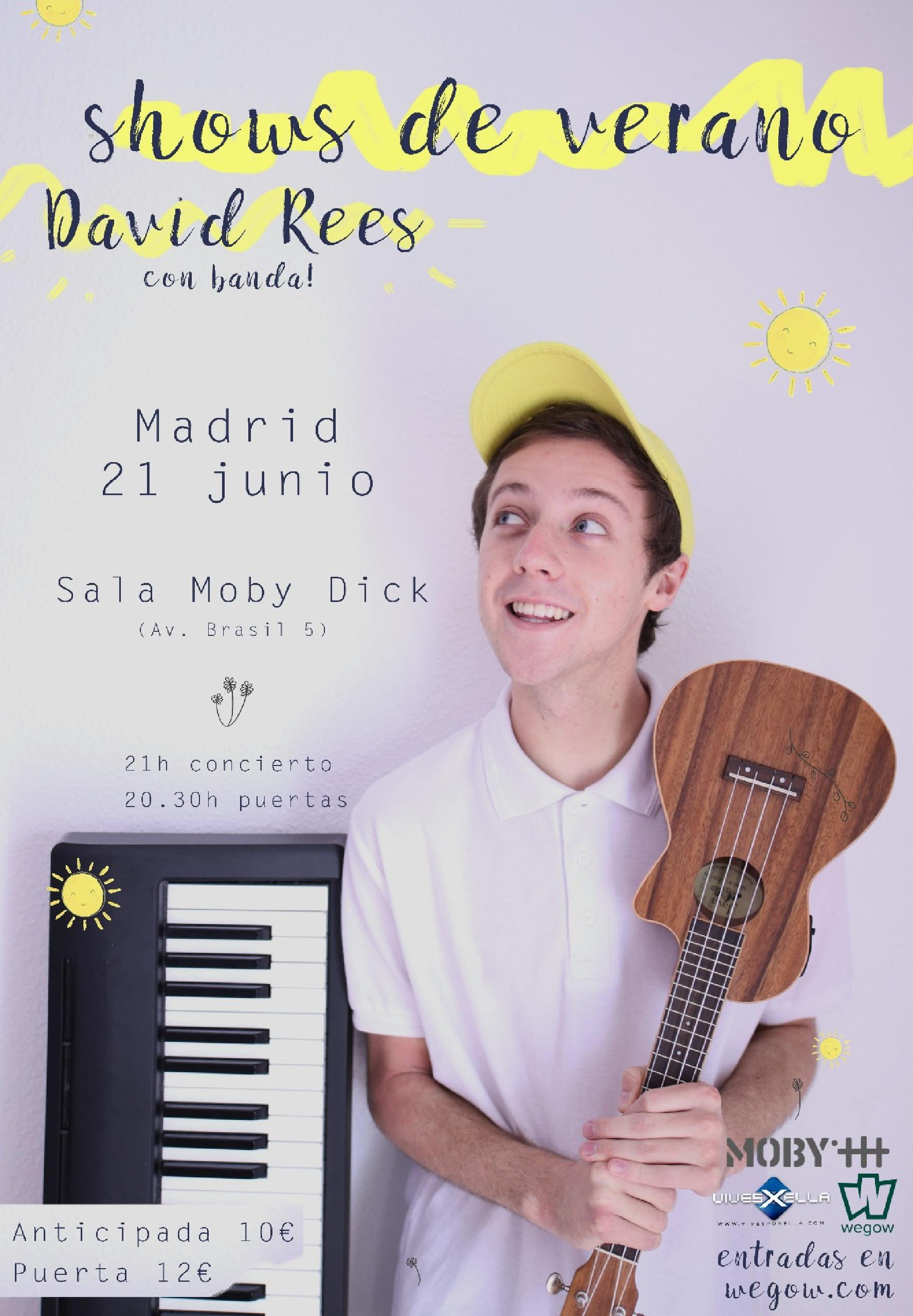 DAVID REES WEGOW MADRID