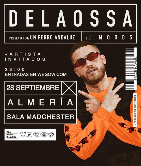 Concierto de Delaossa + Artista invitado en Almería