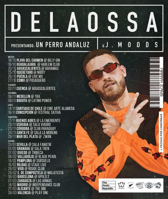 Concierto de Delaossa en Zaragoza