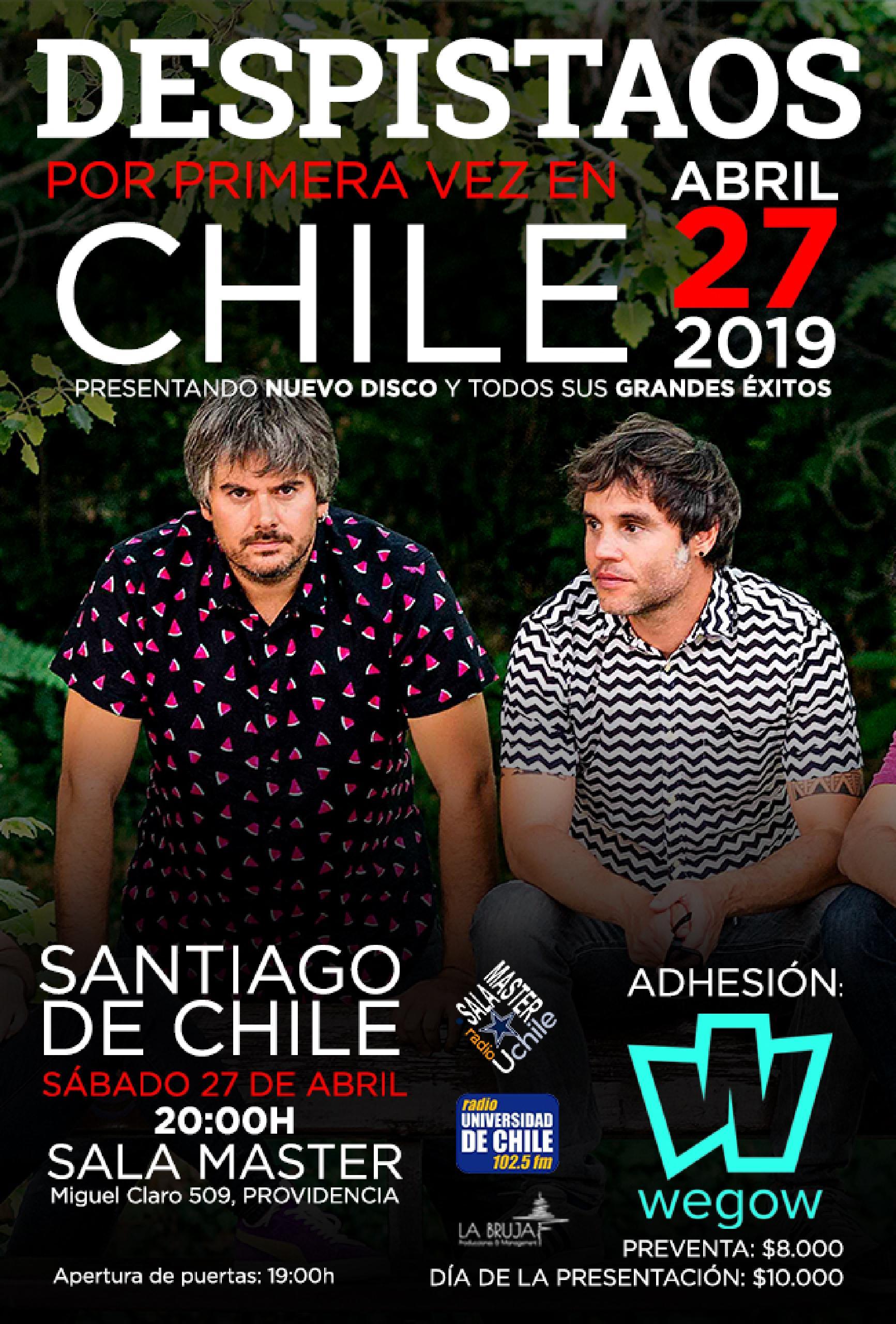 Despistaos en Chile