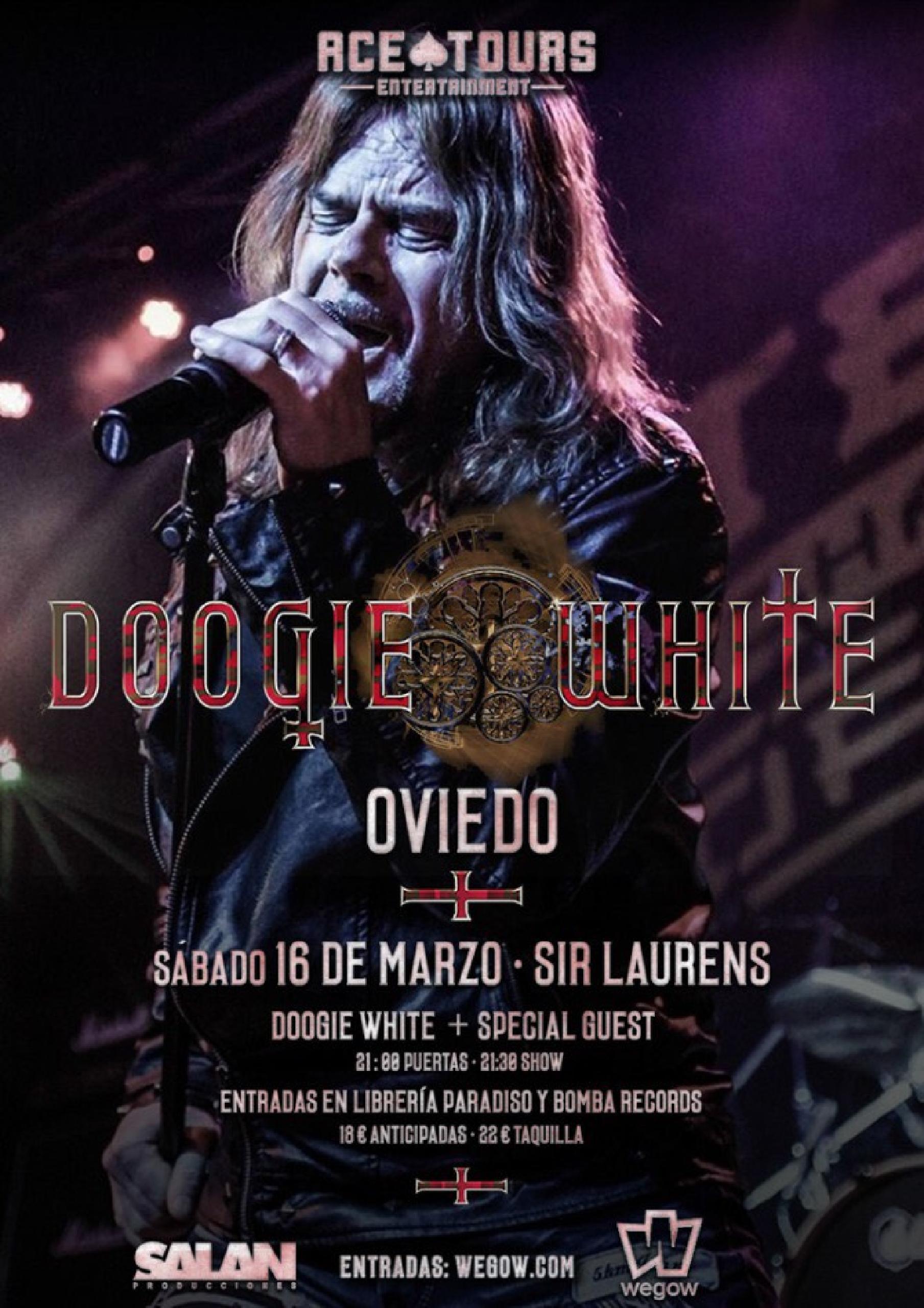 Concierto de Doogie White en Oviedo