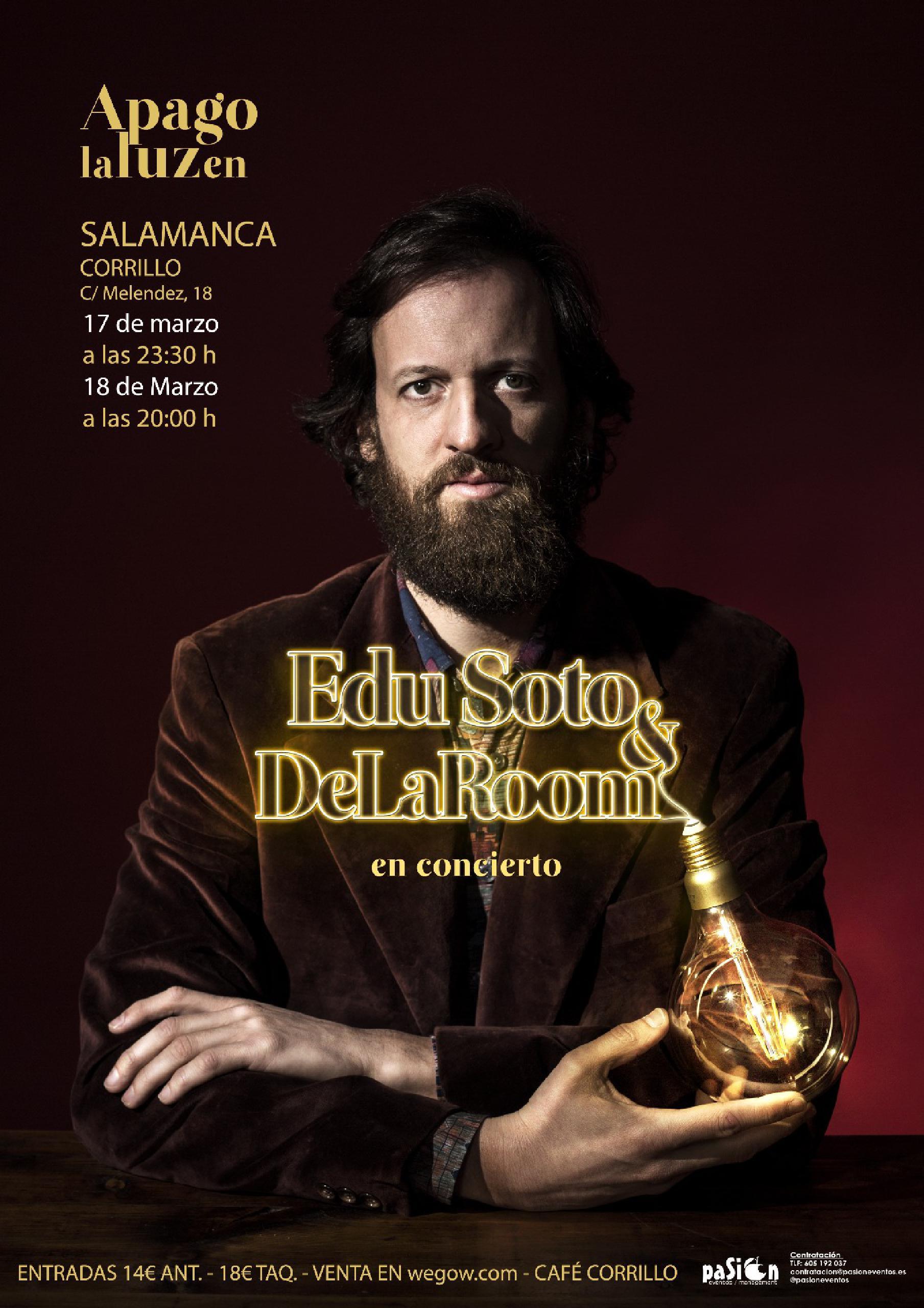 Edu Soto en Salamanca
