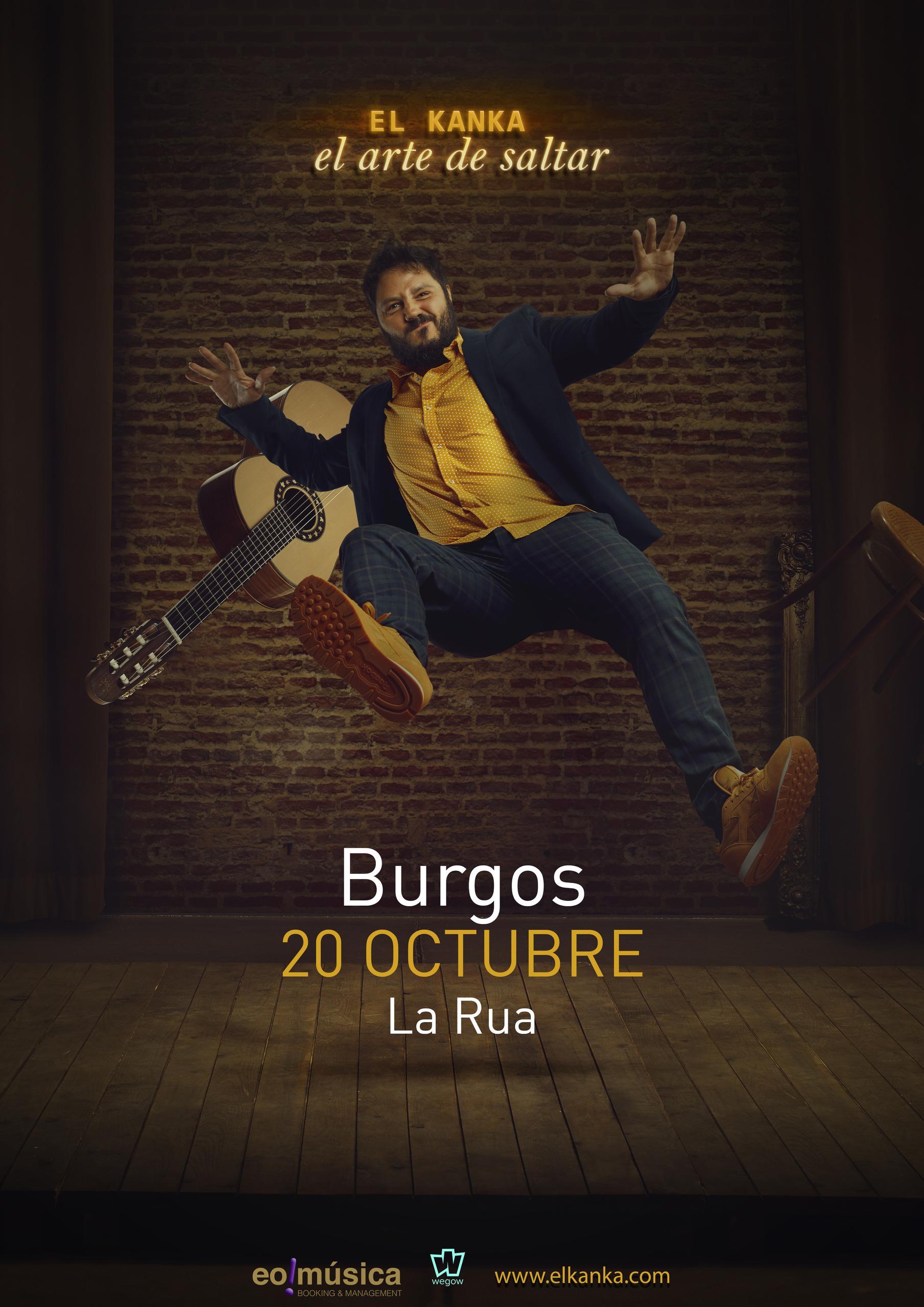 Concierto de El Kanka en BURGOS