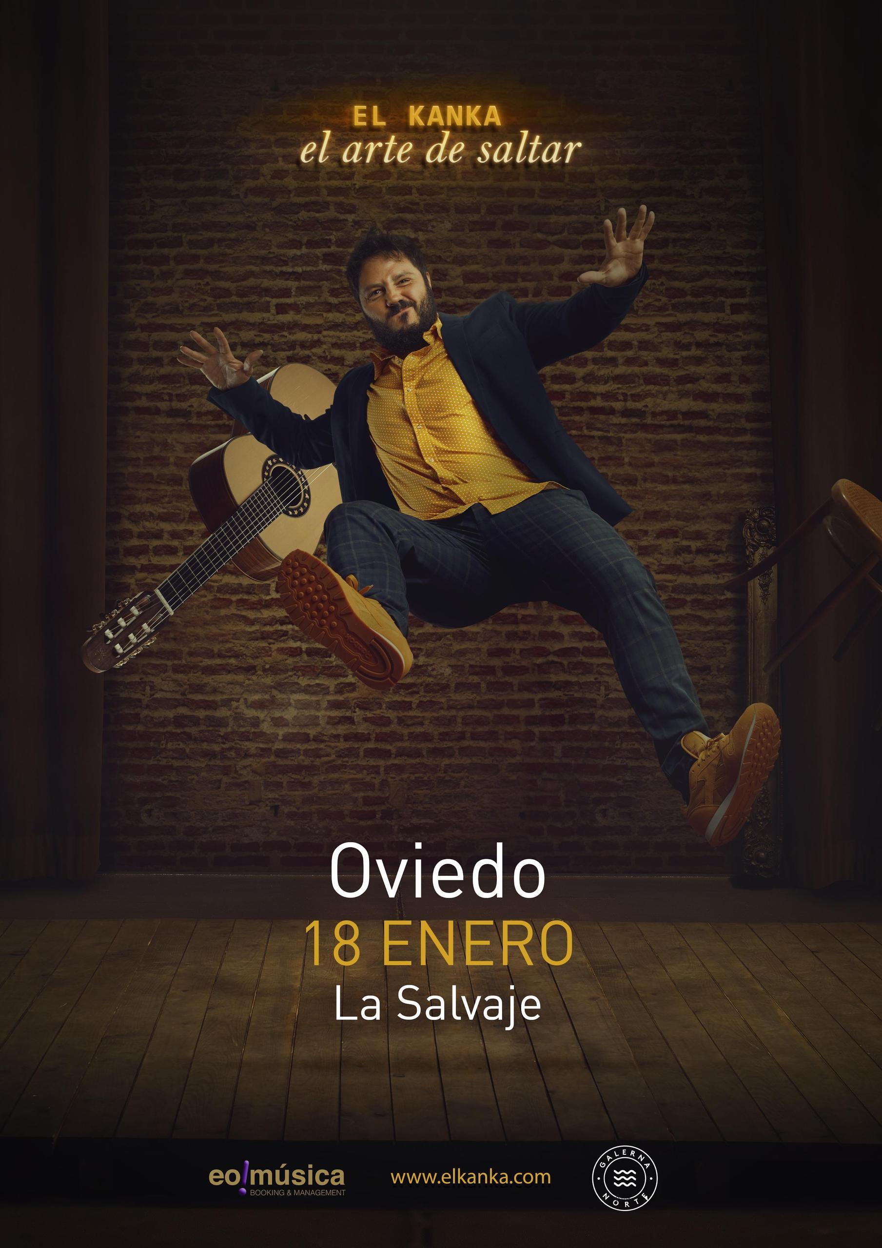 Concierto de El Kanka en Oviedo