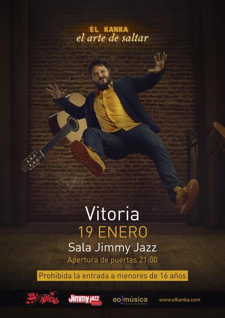 Concierto de El Kanka en Vitoria