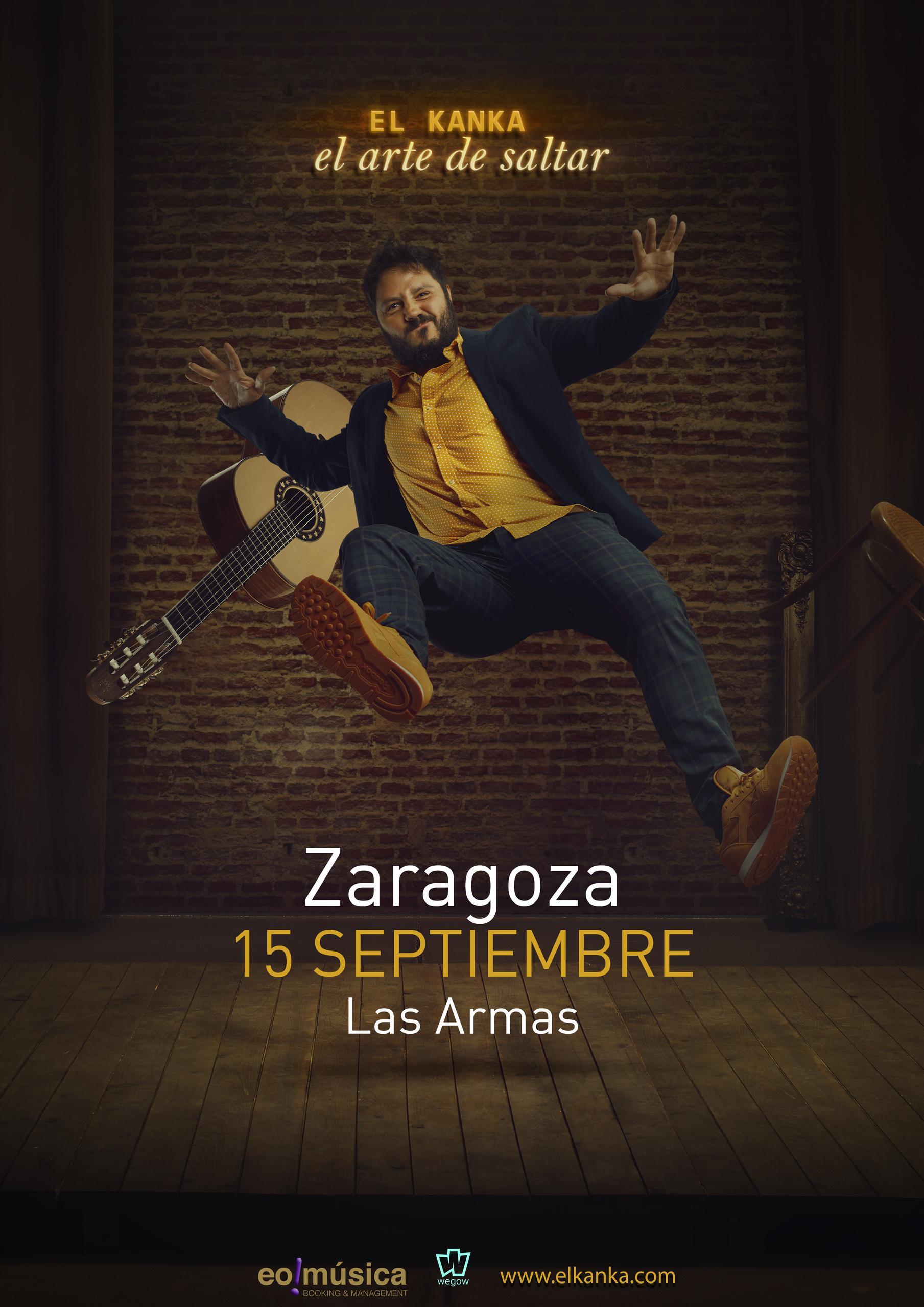 Concierto de El Kanka en ZARAGOZA