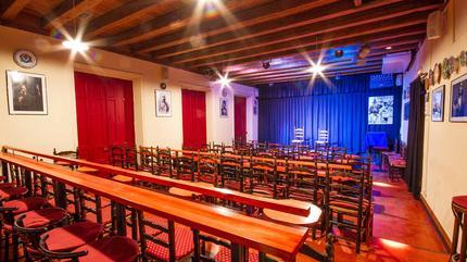 Sala García Lorca de la Fundación Casa Patas de Madrid. Calle Cañizares nº10 de Madrid. Segunda Planta.